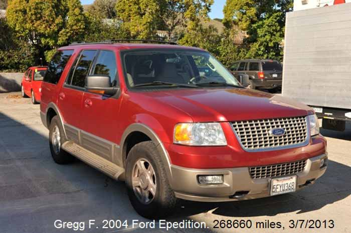 200K Mile Club - 2004 Ford Expedition